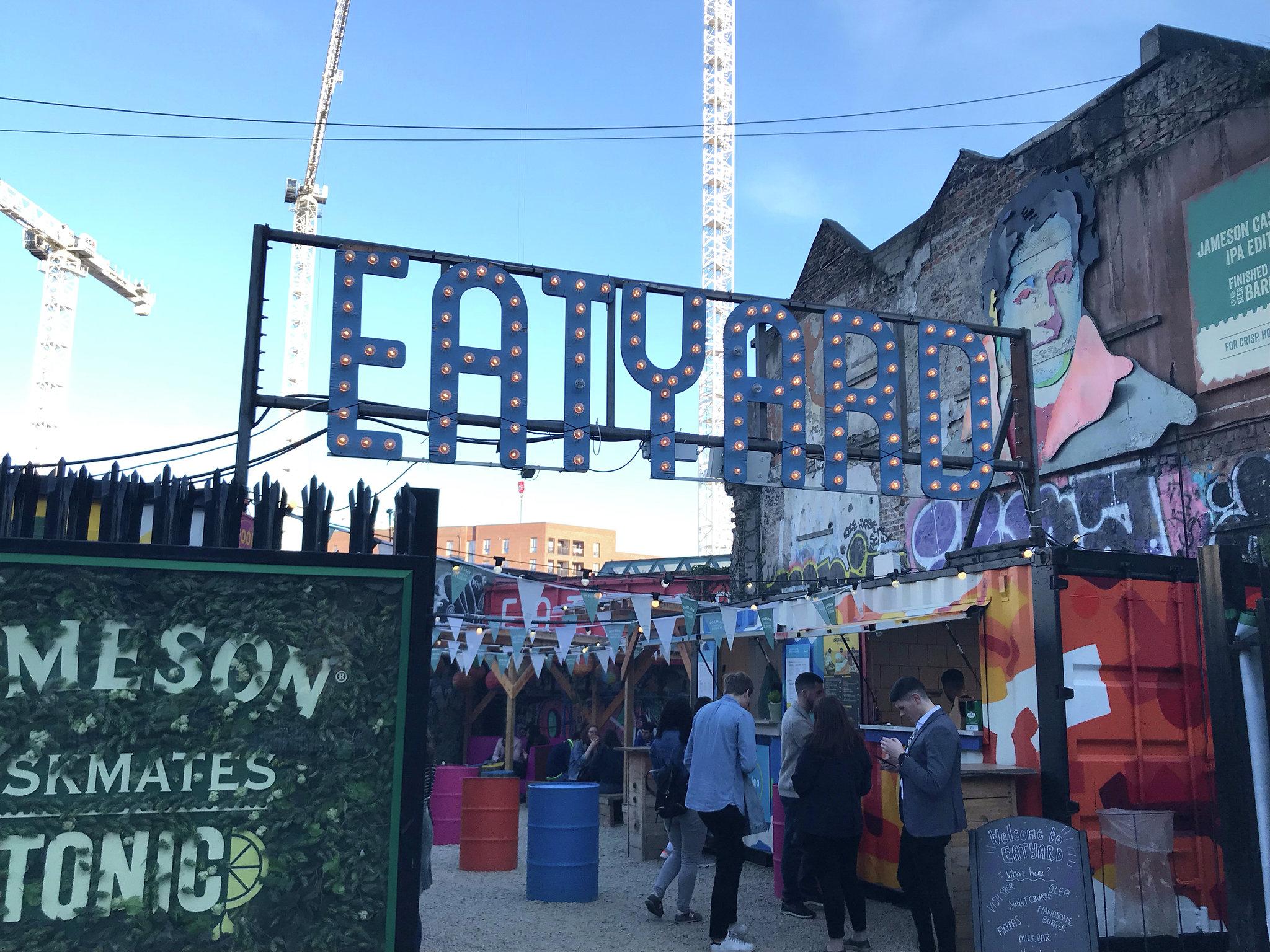 Eatyard is located on Richmond street south, beside the Bernard Shaw pub. Open Thursday- Sunday from 12.   Follow    @98FM    on    Twitter    for the latest Dublin news