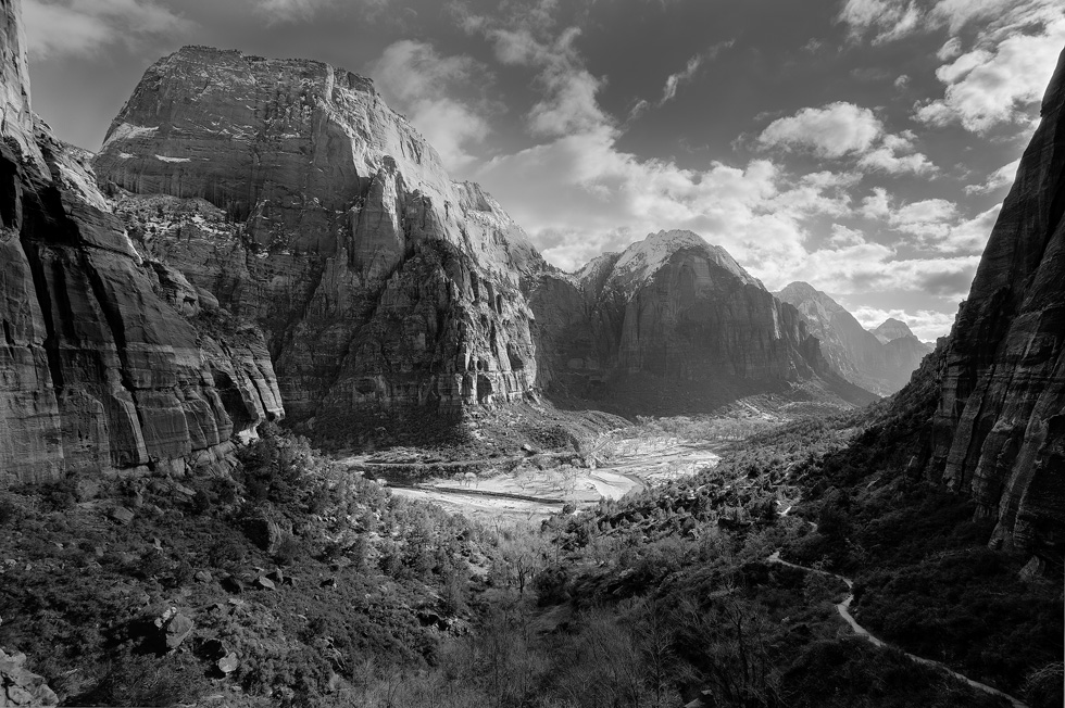 Zion Canyon from the West Rim Trail