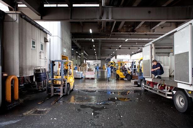 Tsukiji Fish Market Interior