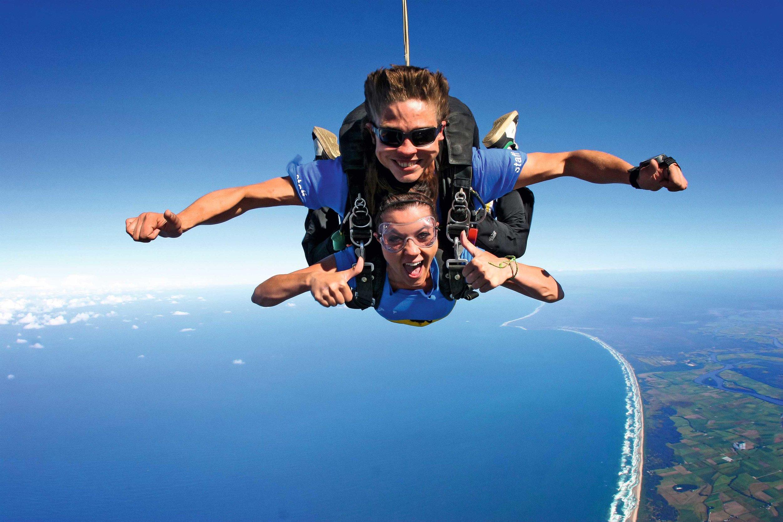 skydivING -