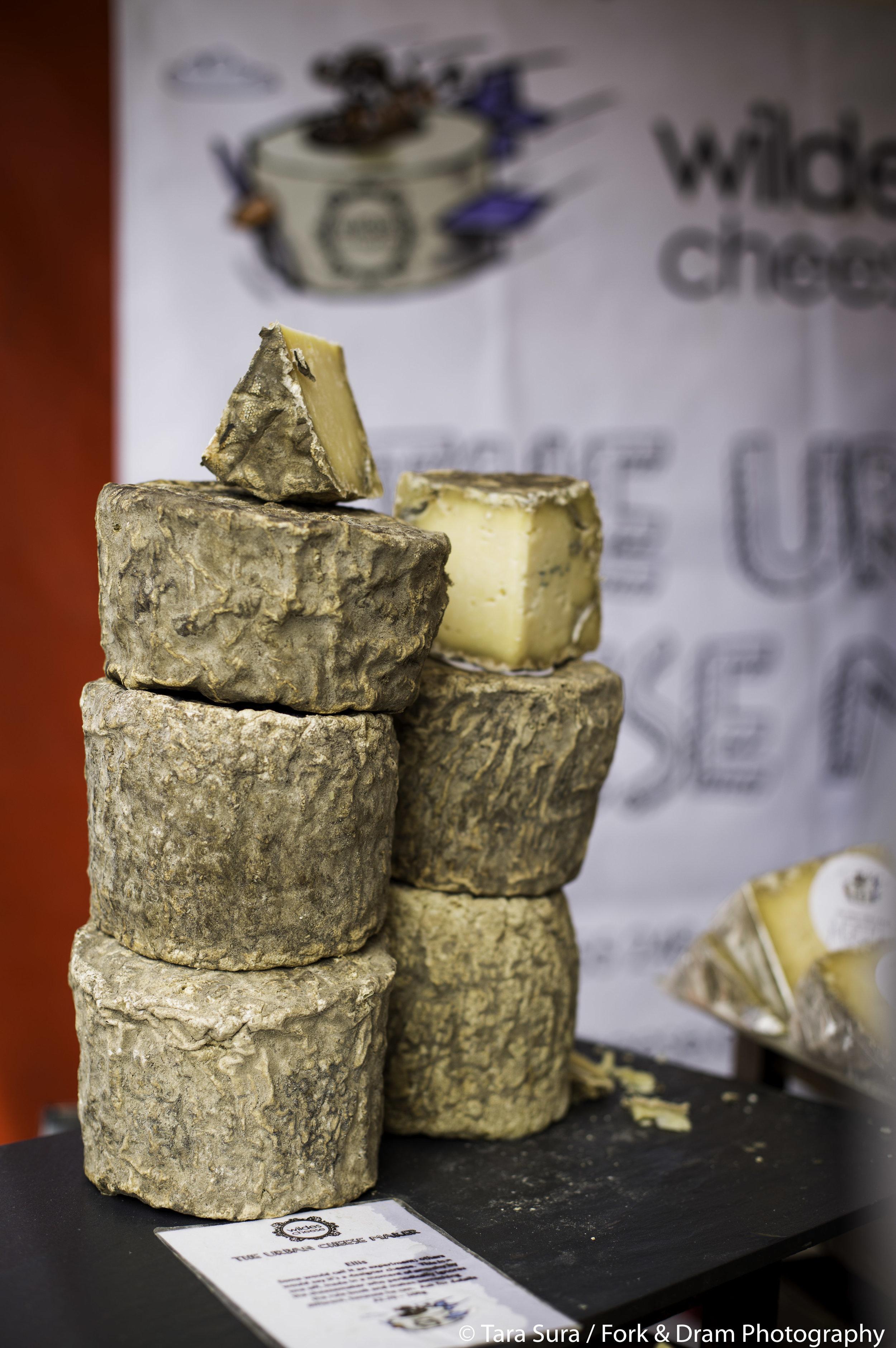 WILDE'S CHEESE   The award winning urban cheesemakers of Tottenham return with their ever popular artisan cheeses    https://wildescheese.co.uk/   Photo: Tara Sura/ Fork and Dram