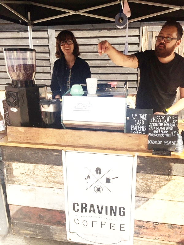 CRAVING COFFEE  Craving coffee – finest coffee and craft beers from the Tottenham based arts centre cafe.    https://www.cravingcoffee.co.uk/