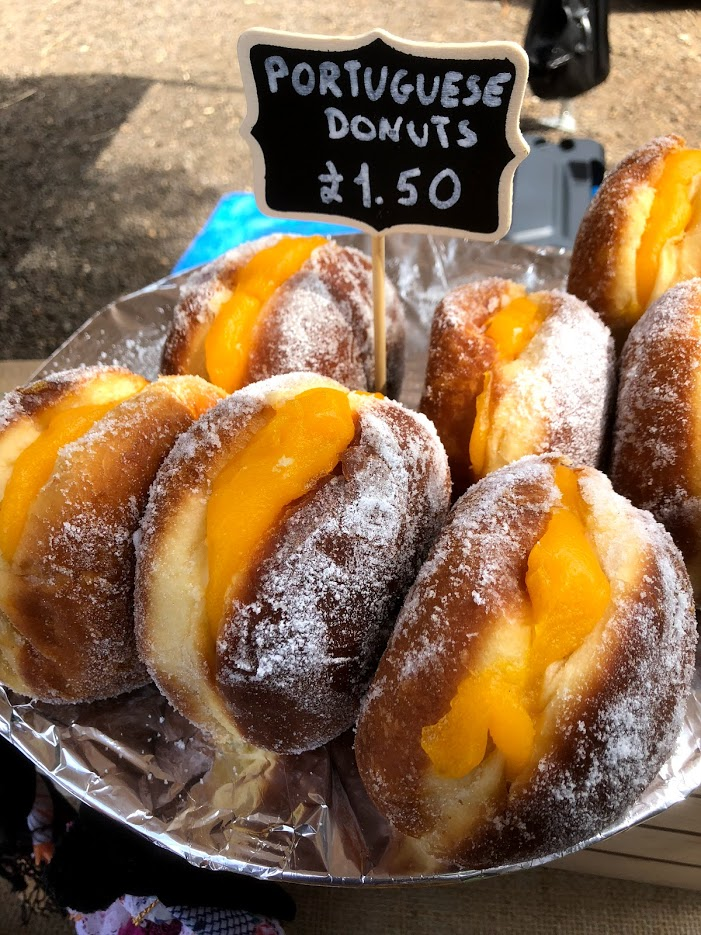 PORTUS CALE   IN THE START UP TENT     Portugeuse treats and delicacies from pasteis de nata to custard filled donuts!