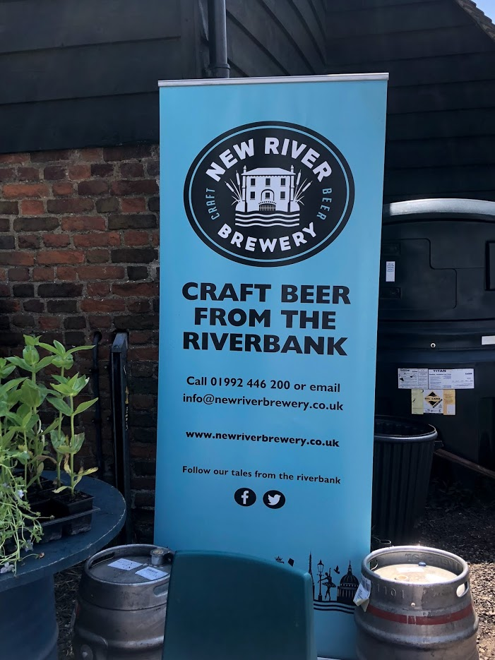 BLACK BARN BAR  WITH LOCAL ALES FROM NEW RIVER BREWERY