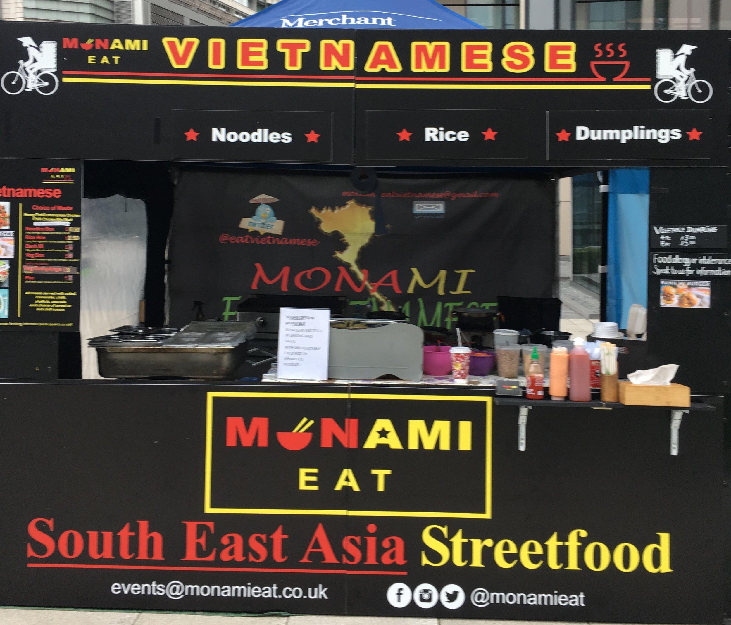 MONAMI EAT   Authentic Vietnamese streetfood like noodles with honey pork, chilli chicken, dumpling using high quality ingredients    https://twitter.com/eatvietnamese
