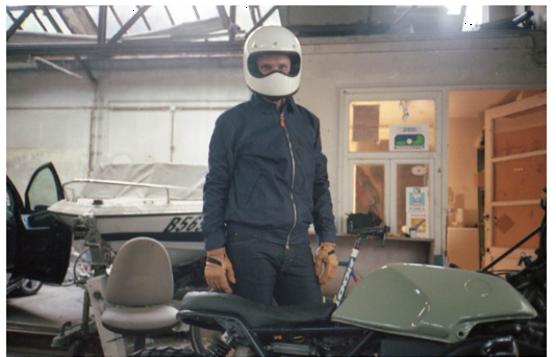 Custom motorcycle bellerose