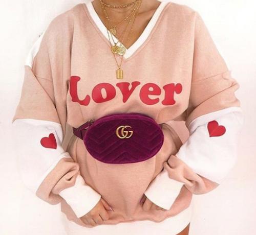 """LOVER"" slogan sweatshirt, MISSGUIDED.co.uk"