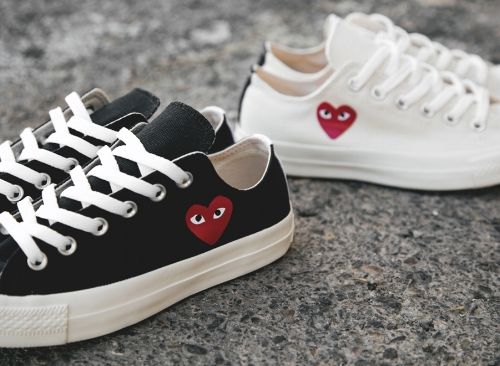 COMMES DES GARCONS Converse 70s x play cdg trainers