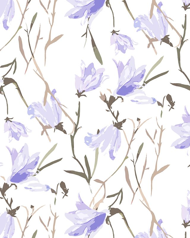 All the bluebells are out in the woods at home. ❤️🌸🌱🌾 #printdesigner #flora #bluebell #woodland #devon #printdesign #illustration #design #print #illustrator #textiledesign #patterndesign #pattern #photoshop #surfacedesign #art #surfacepattern #freelance #textiles #adobe #freelancelife #drawing