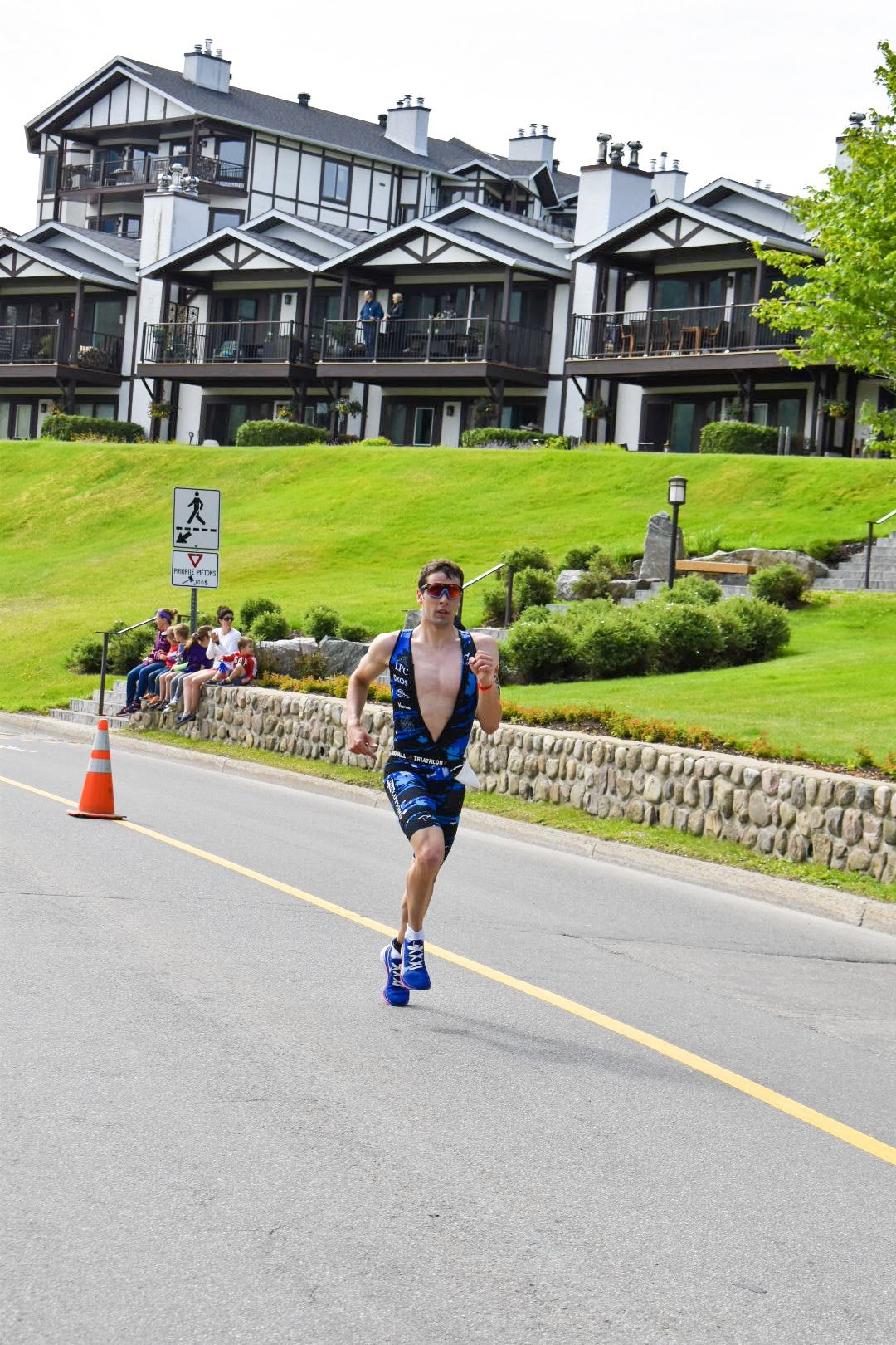 Ironman 70.3 Mont Tremblant 2019, 1:14:31 run.