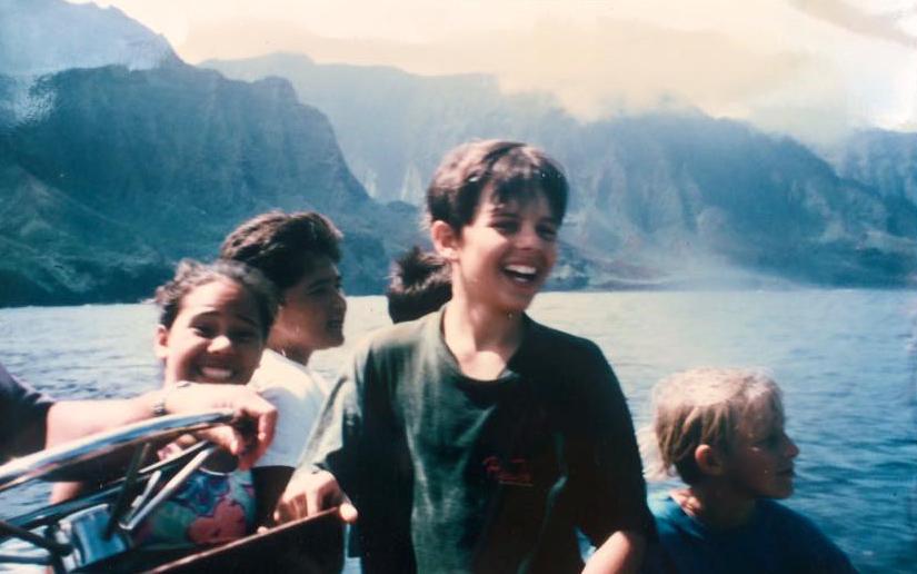Na Pali Coast, 1997.