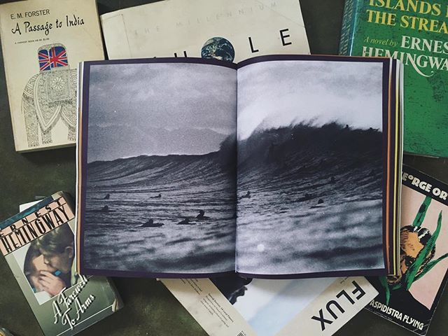 Books have played such a large role in my life I had to create my own. This is a spread from my new and first book VANLIFE. The day I took this photo at Pipeline the waves had 40 foot faces. I say that with no exaggeration and it was one of the spookiest experiences of my life. Having to find balance between the torrential current and massive wave faces was no joke. Ordering is easy just click the link in my profile or DM me. VANLIFE is an 8.5x11in photography book and only costs $32 including shipping. Order now and help support my art. #photobook #vanlife #hawaii #oahu #pipeline #hawaiisurf #filmisnotdead