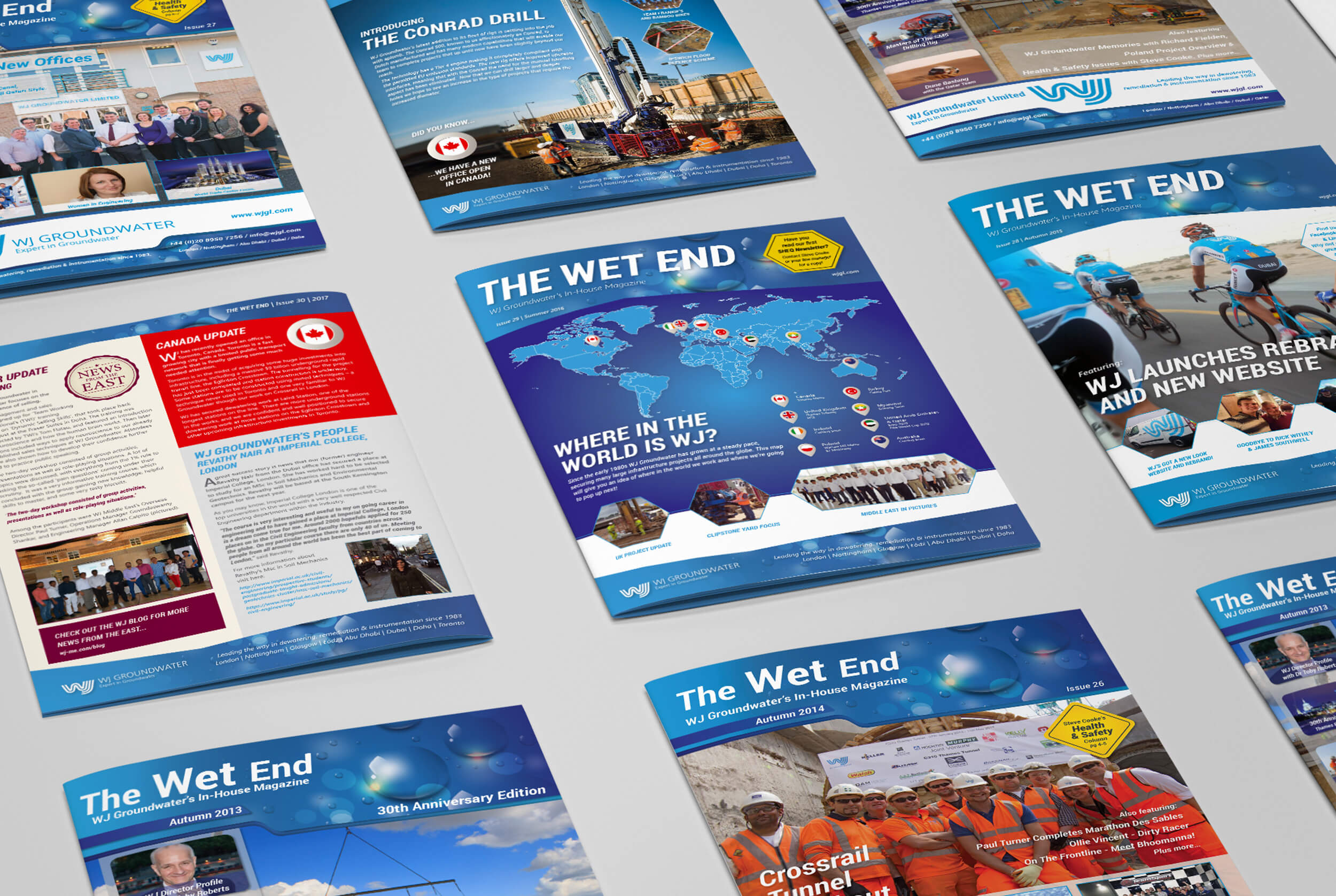 The Wet End - WJ Groundwater's Company Newsletter
