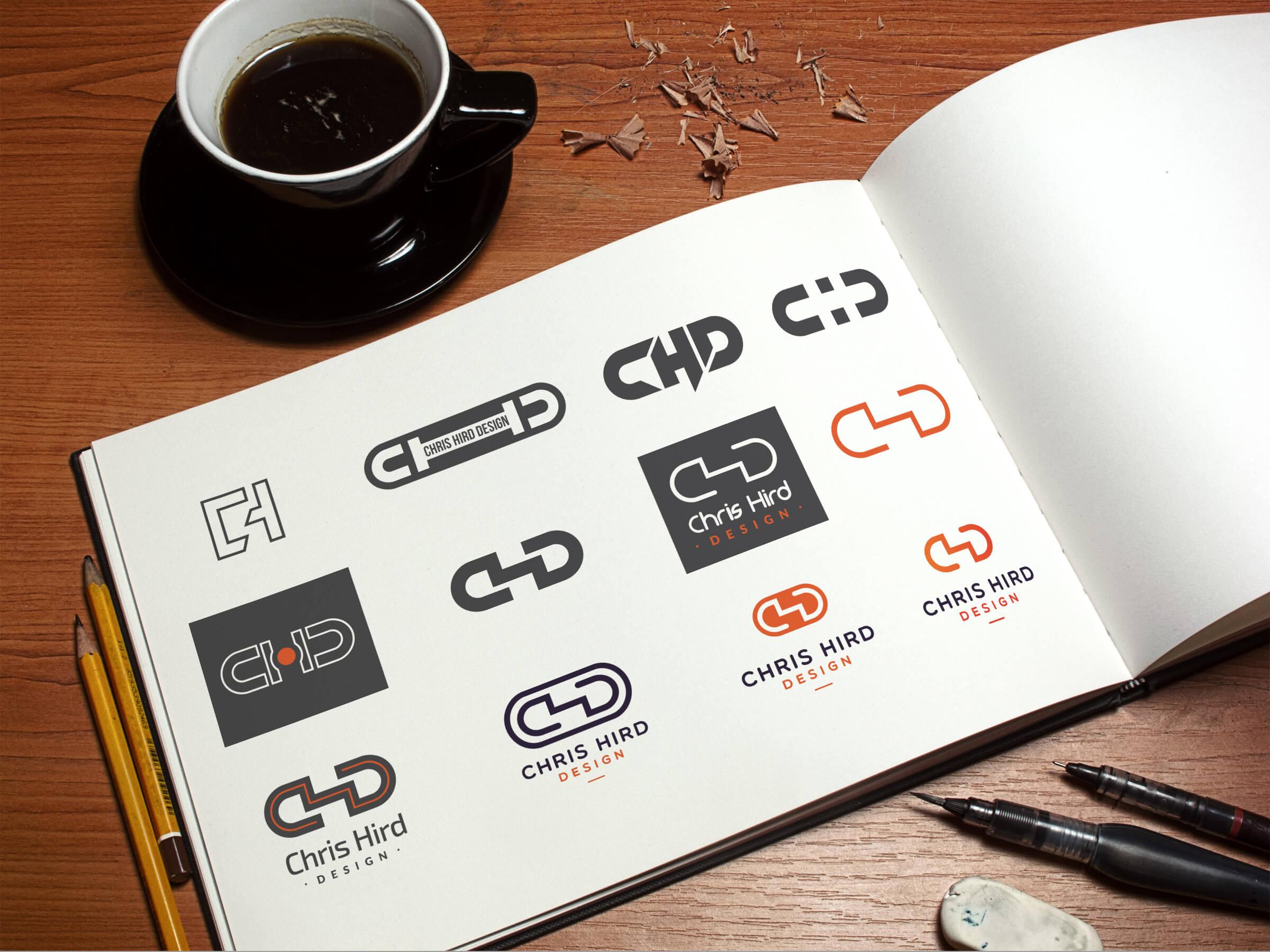 Logo development path
