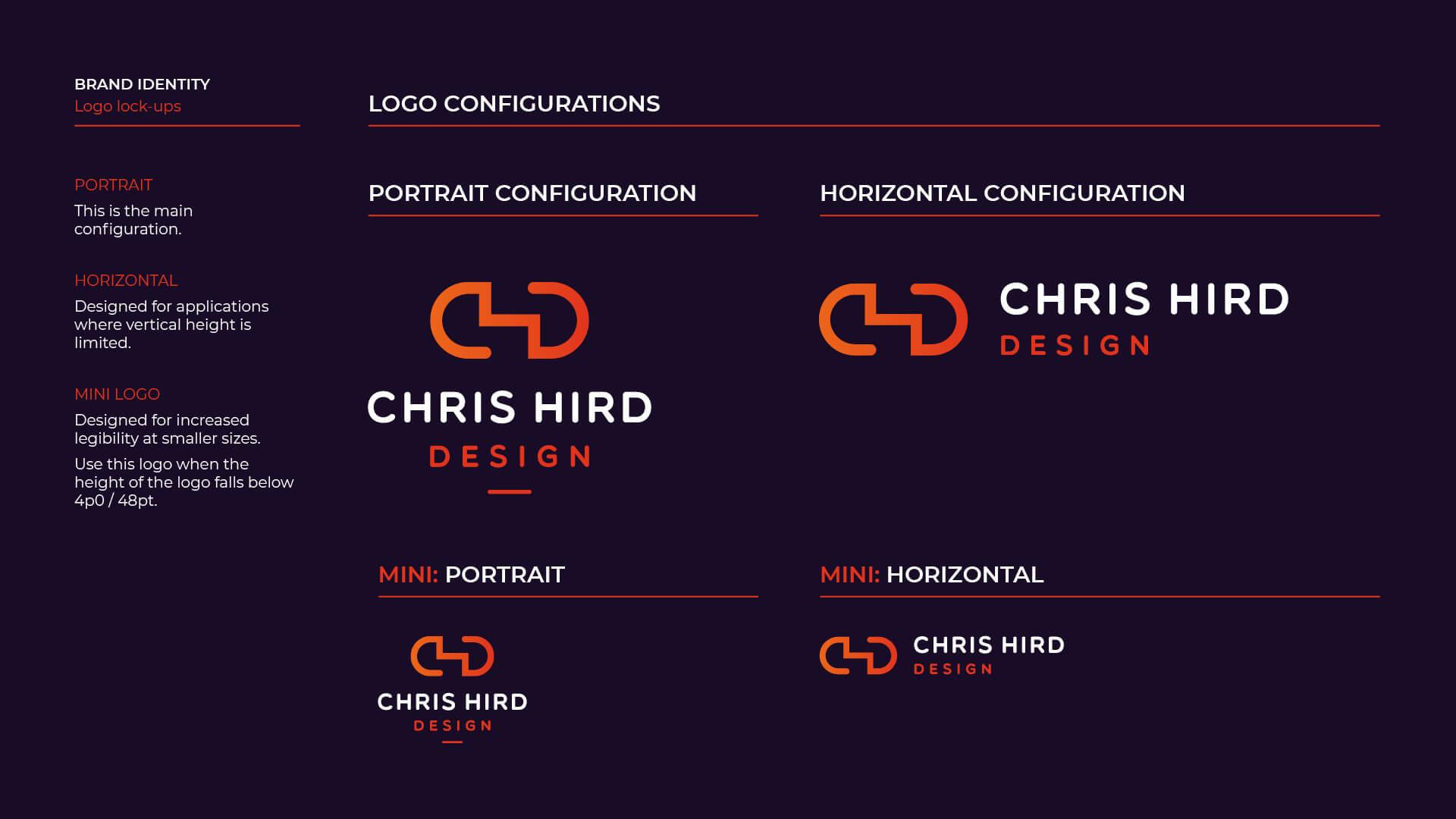 Logo configuration (on dark)