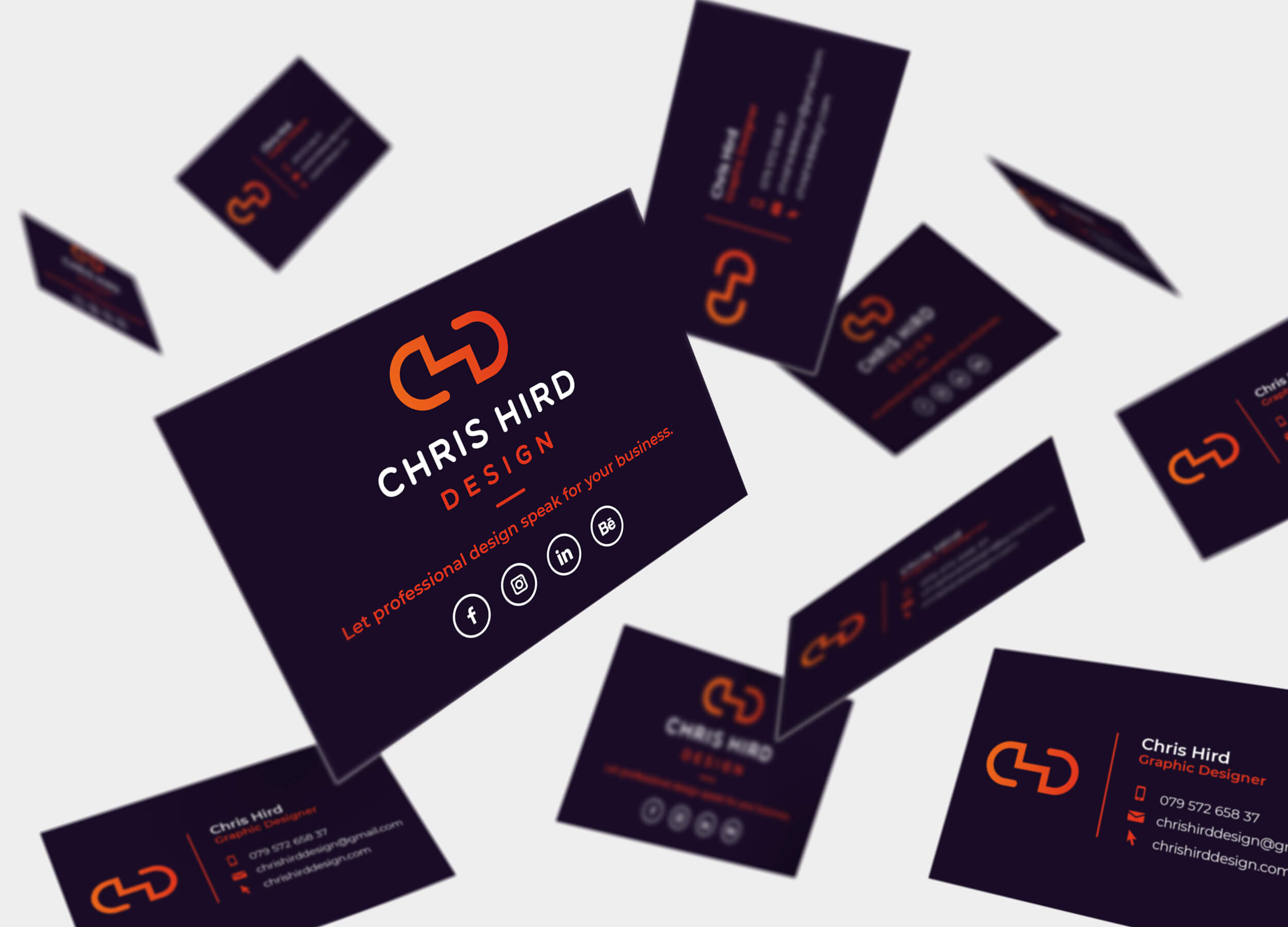 Rebranding Chris Hird Design (2018)