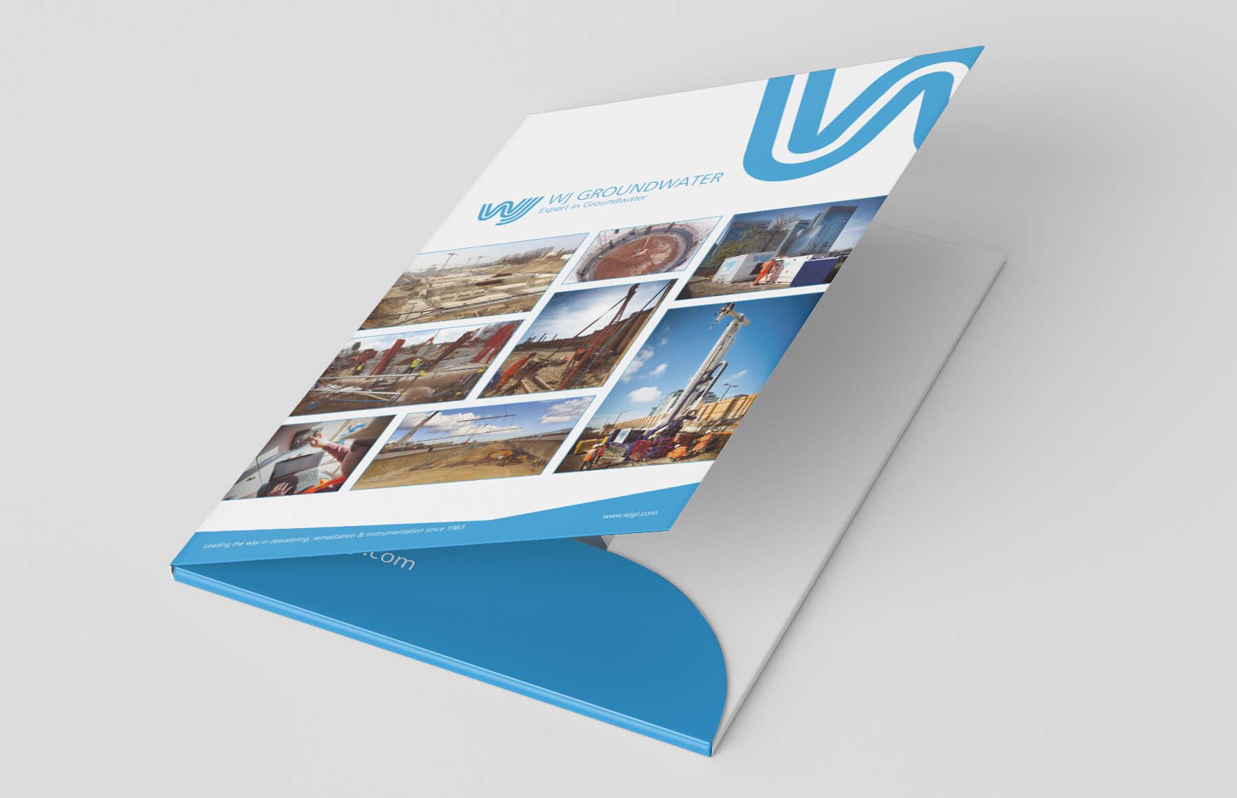 A4 Presentation folder to hold the UK brochure