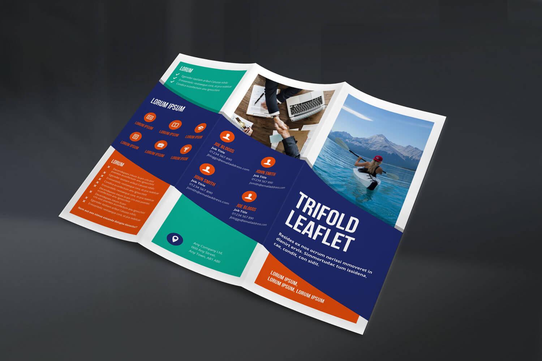Trifold Leaflet - Concept 2 - Outside
