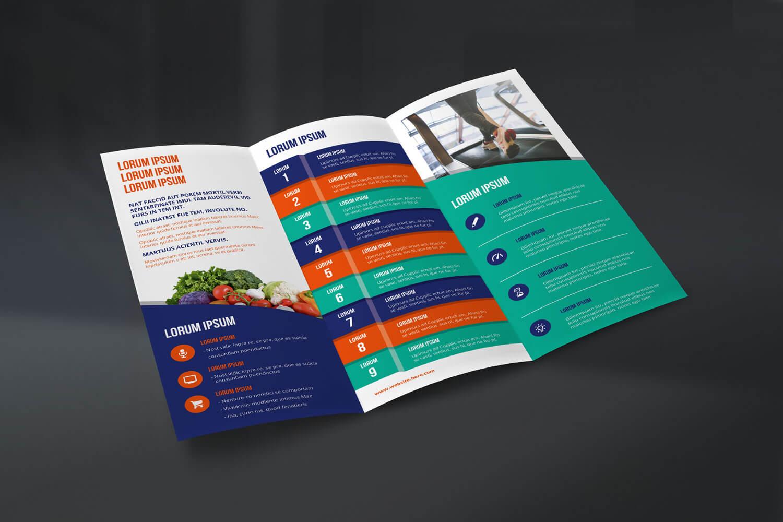 Trifold Leaflet - Concept 2 - Front
