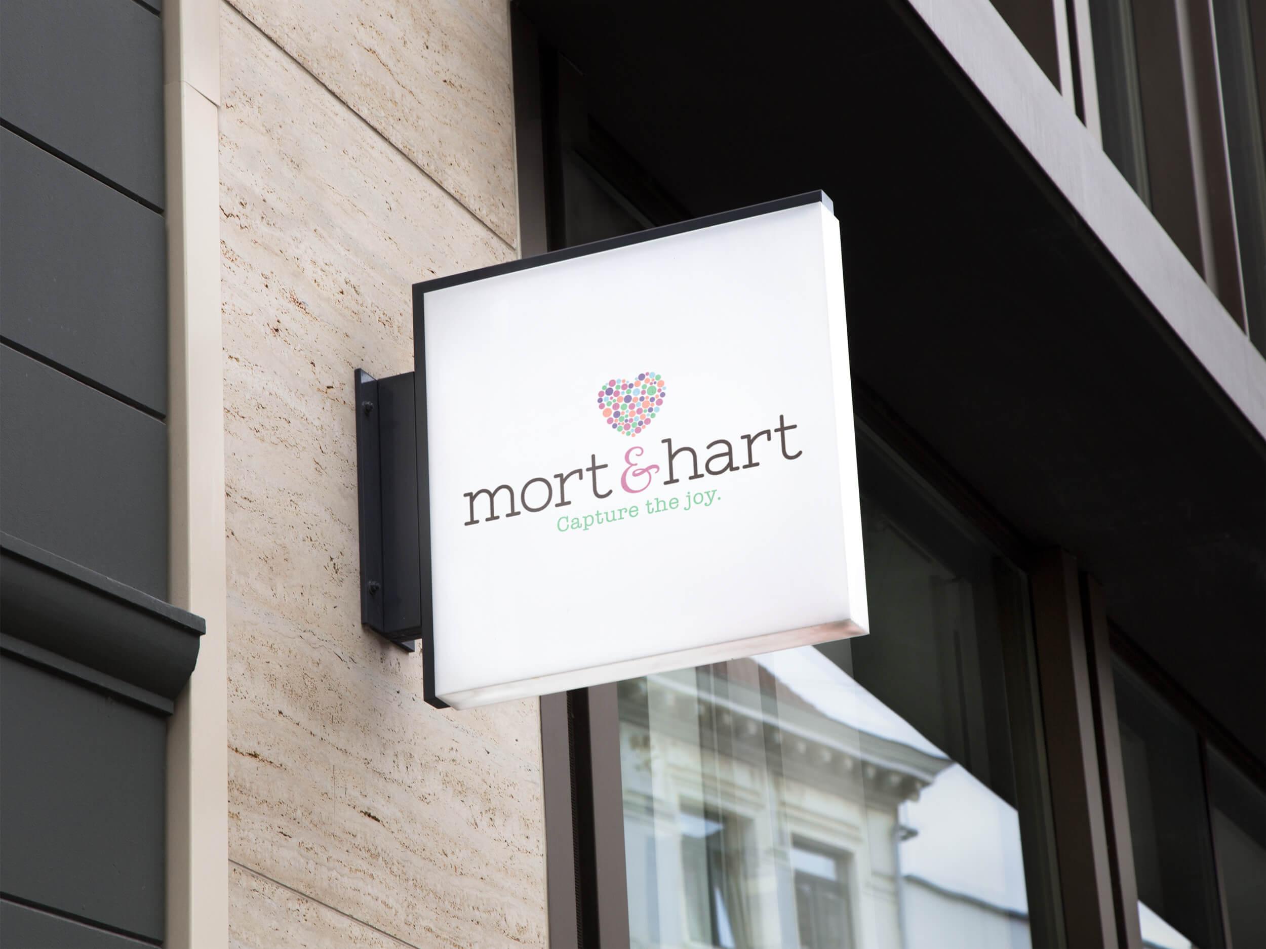Logo Design for   Mort & Hart