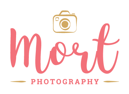 Final logo for Mort Photography