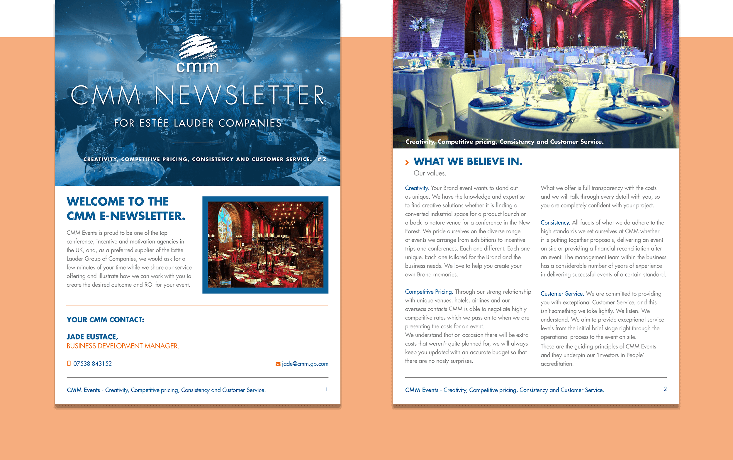 Front page and opening Introduction page
