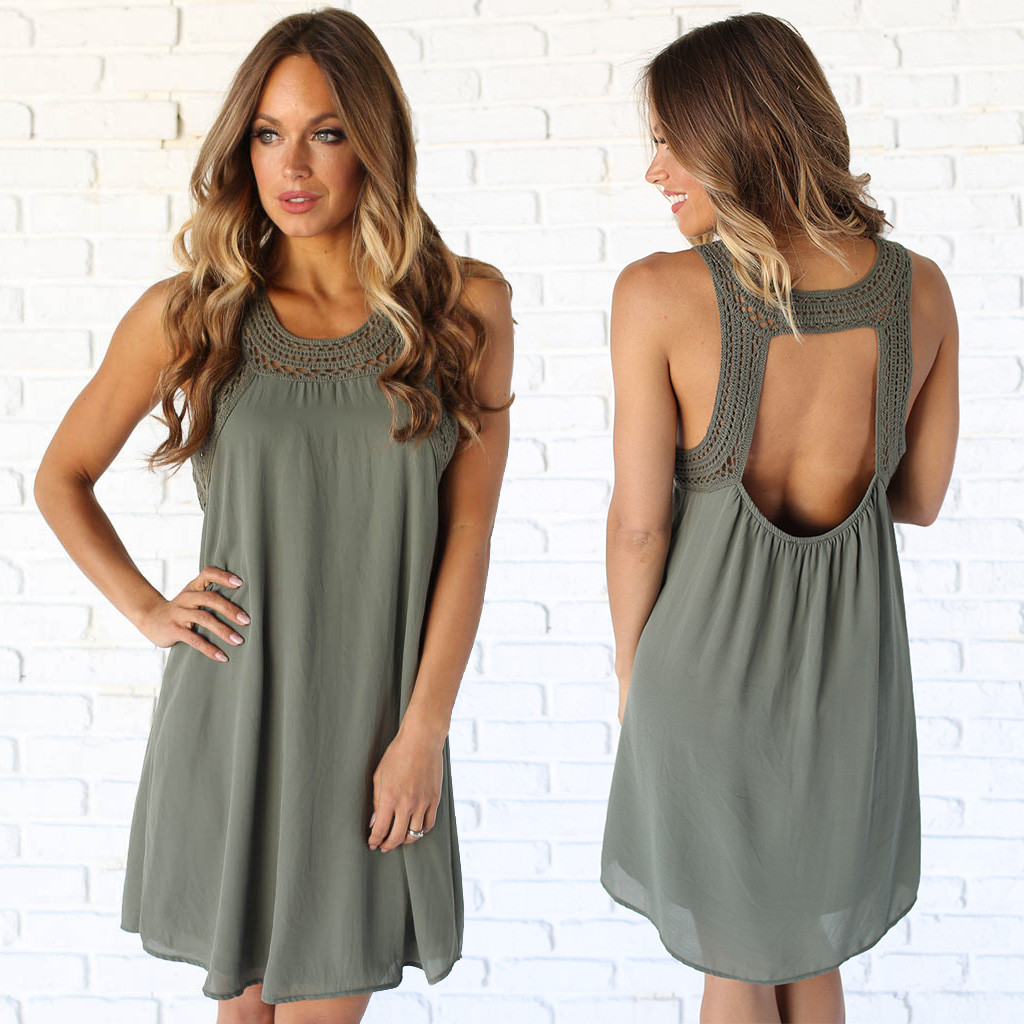 There is no rule that you have to wear a long dress for photoshoots. Short dresses can look great too, but try to refrain from dresses that are tight or too revealing. This dress  here  is perfect!