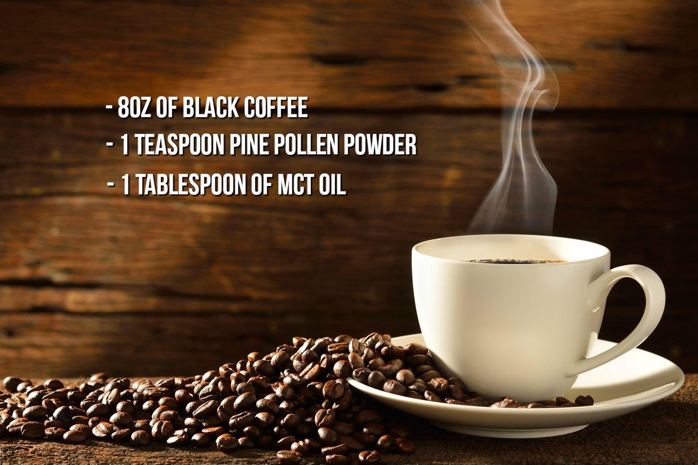 Pine Pollen Coffee Recipe