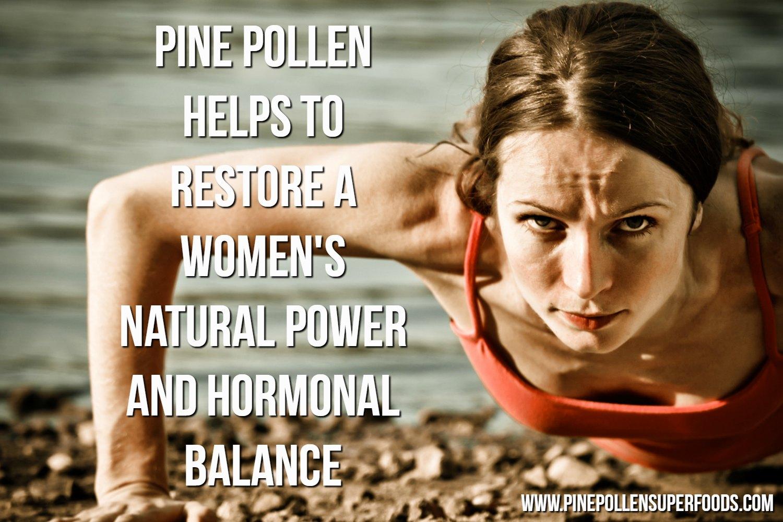 Pine Pollen Benefits for Women