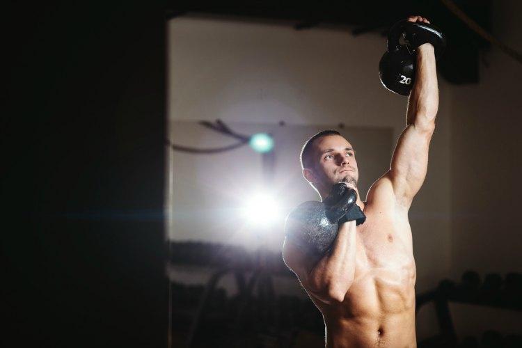 3 Kettlebell Shoulder Exercises for Mass and Strength