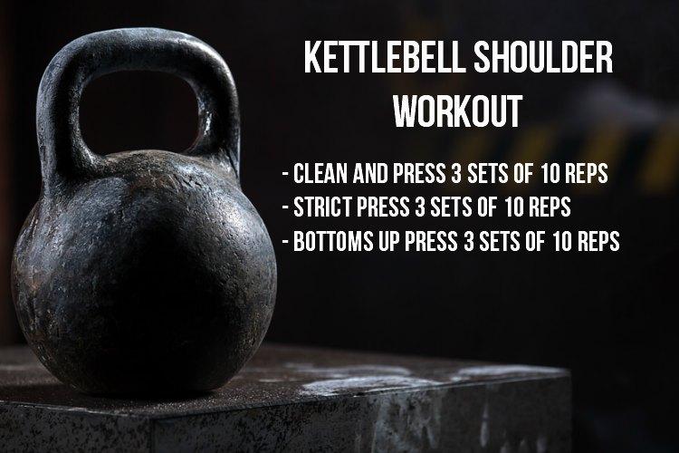 Kettlebell Shoulder Exercises - Workout
