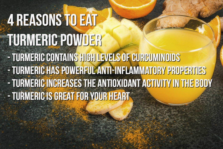 Benefits of Regular Turmeric Consumption