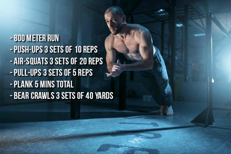 Bodyweight Workout 11.27.17