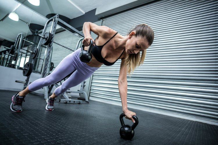 Kettlebell Cardio Exercises and Workout Circuit