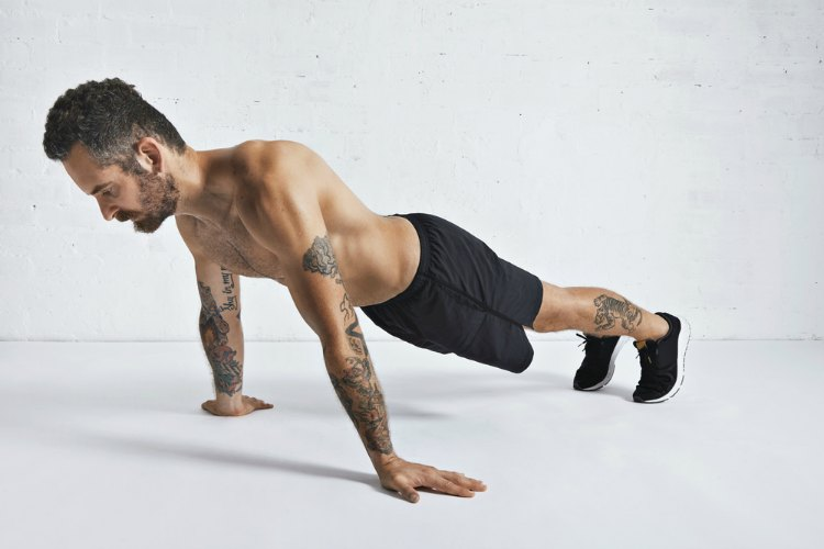 Bodyweight Tricep Exercise - Planche