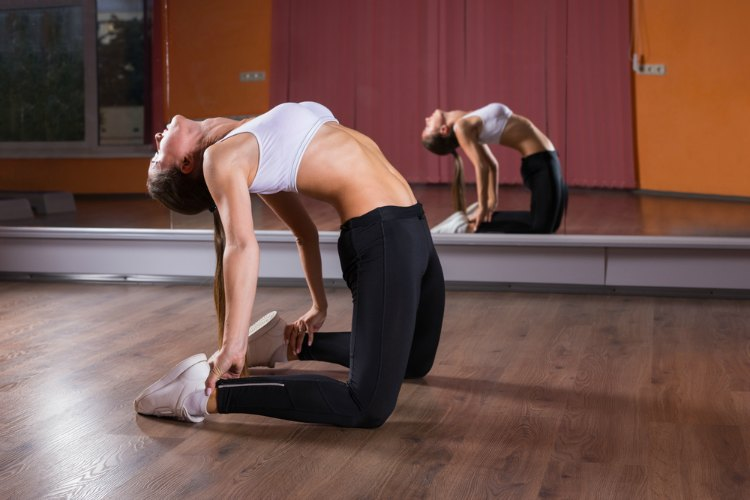 Hip Flexor Stretches - Camel Pose