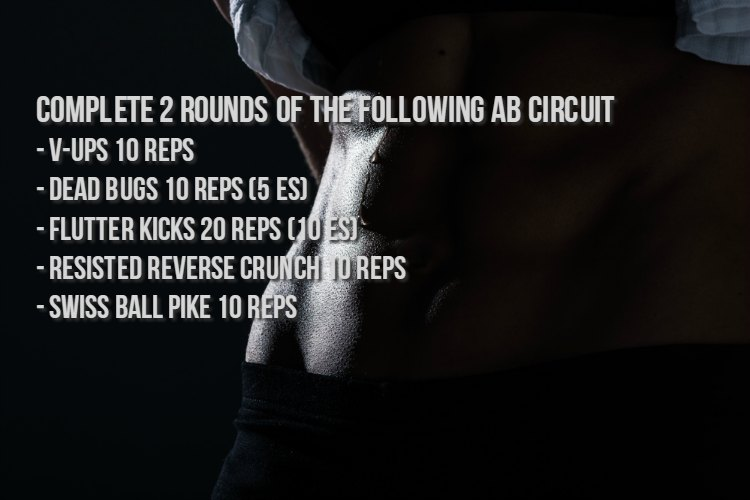 Lower Ab Exercise Circuit