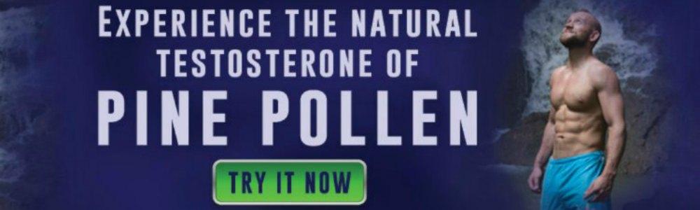Pine Pollen Erectile Dysfunction Banner