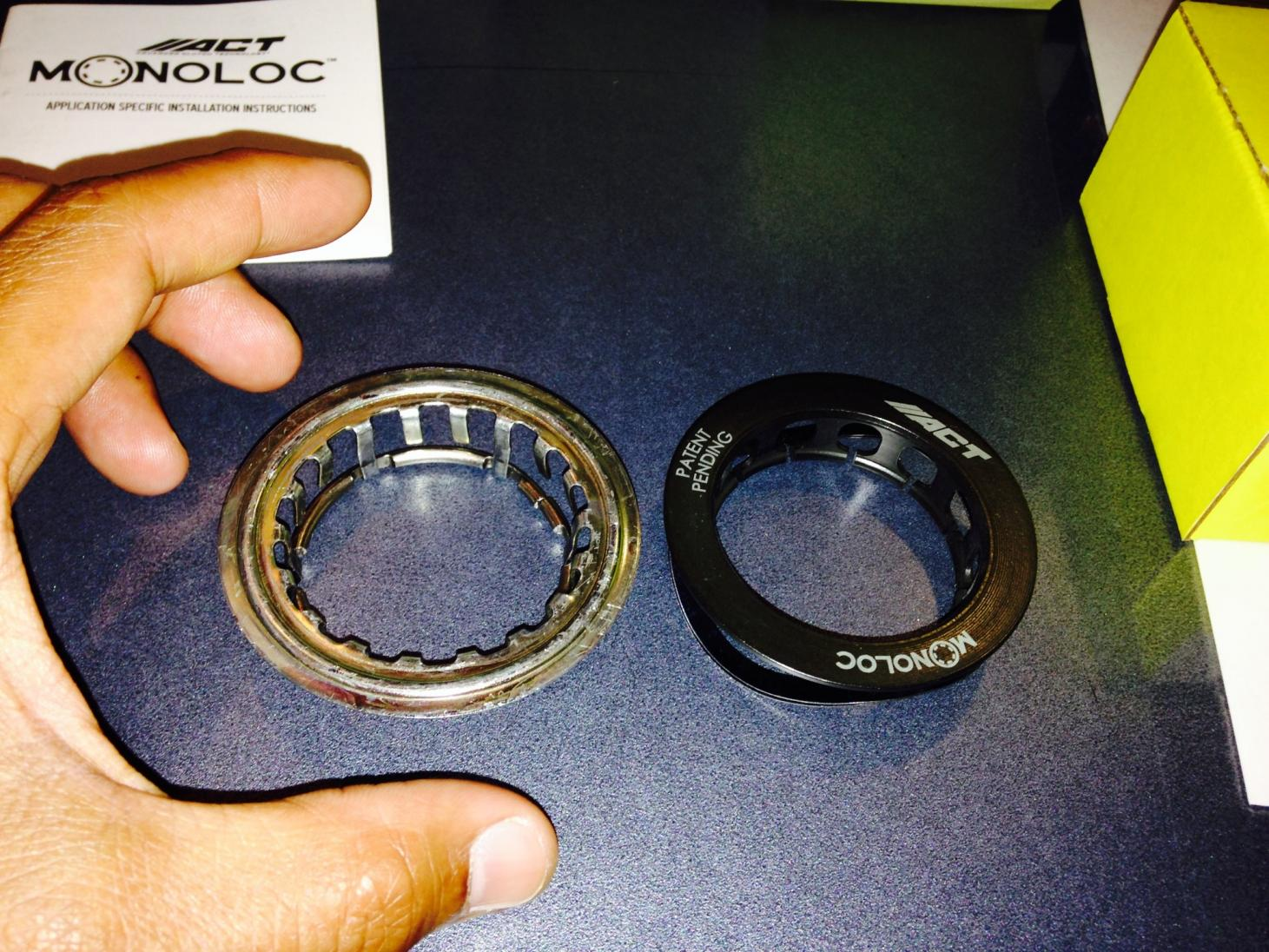 Stock vs Monoloc Technology Top View