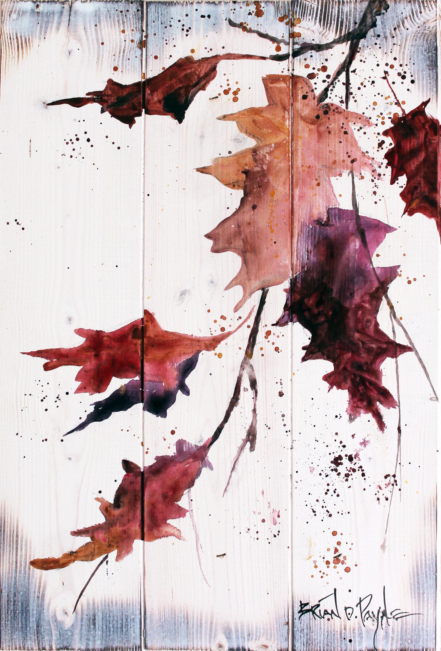 Autumn Leaves Panel