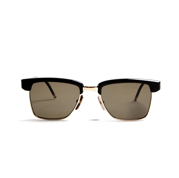 Thom Browne Eyewear TB-006 Black 12K Gold MALCOM.jpg