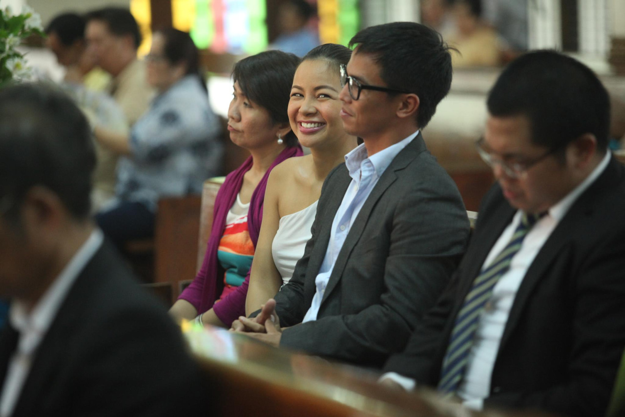 Photo taken at a friend's wedding last June 27, 2015. Obviously, I think the world of my husband. Even more so now, for all the forgiving he has been doing, hehe. They say that 'marriage is the union of two forgivers'. And it's true, it's very true.