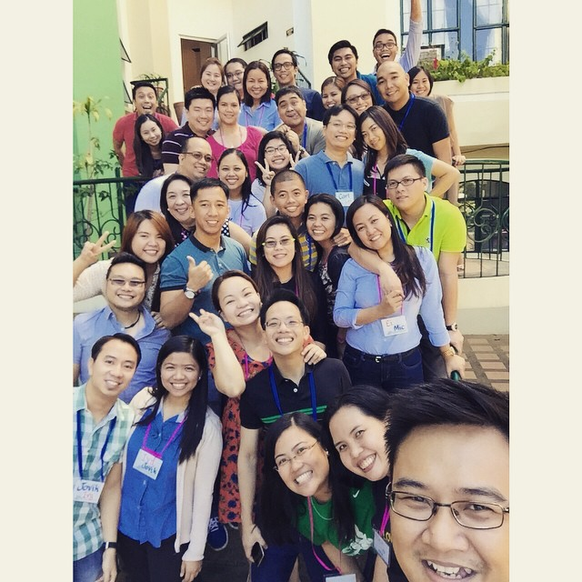 With our Discovery Weekend batchmates, March 2015 :)