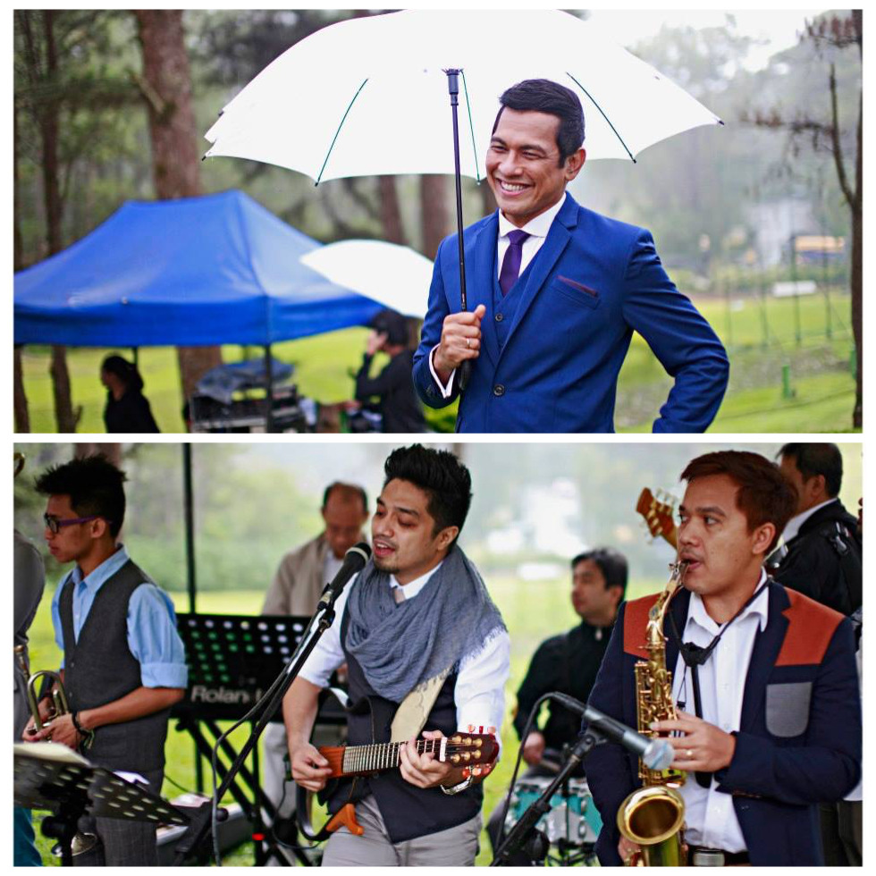Tito Gary and Nyoy - both of them being at the wedding and sharing their awesome talents with us, were answered prayers. <3