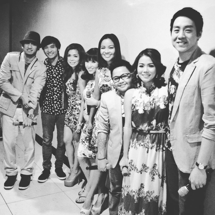 Sessionistas at ASAP's 20th anniversary show held last February at the MOA Arena.