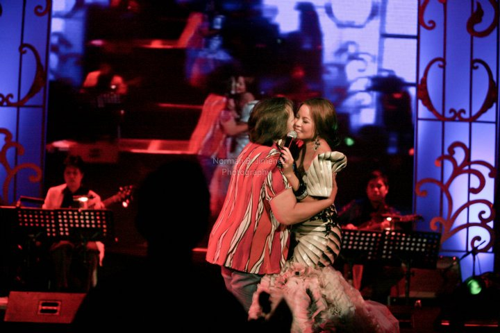 Love this pic of my Mom and me, taken 2011 at the Ang Aking Awitin concert at the Music Museum. Credits to Norman Jimenez.