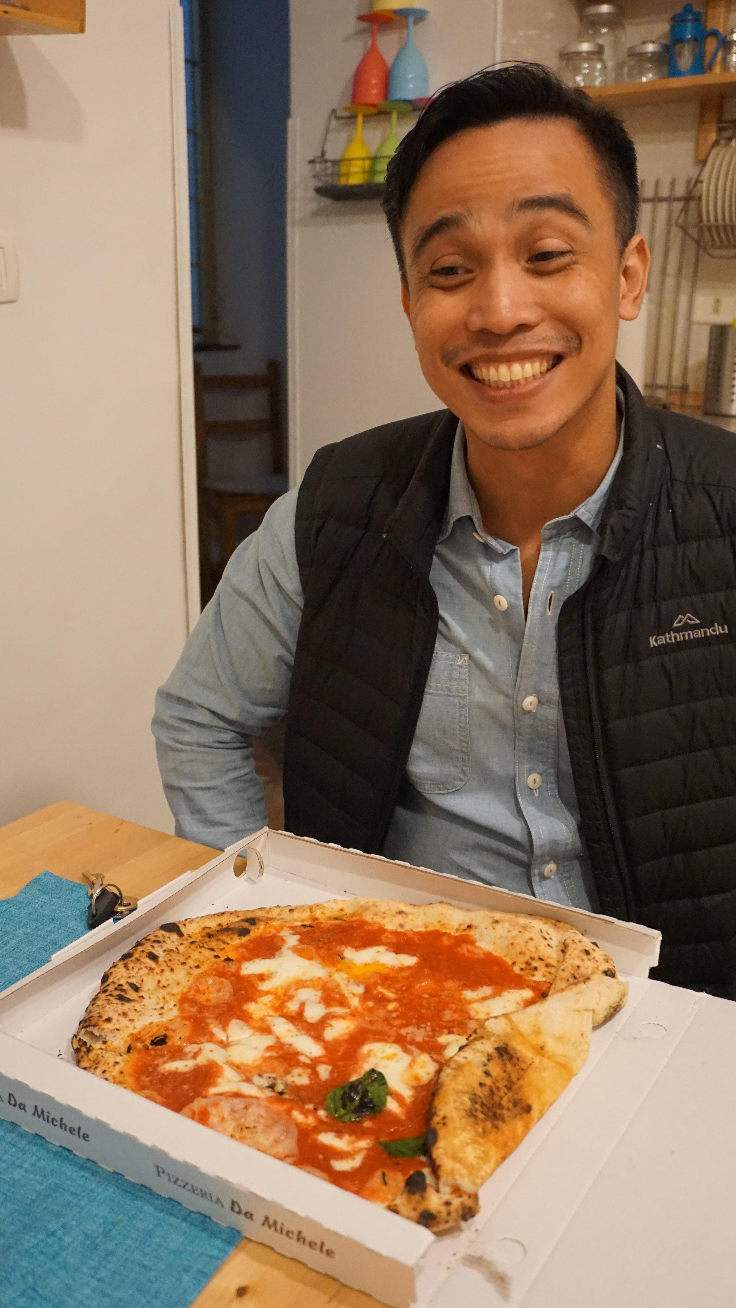 Pizzaboy so happy!!