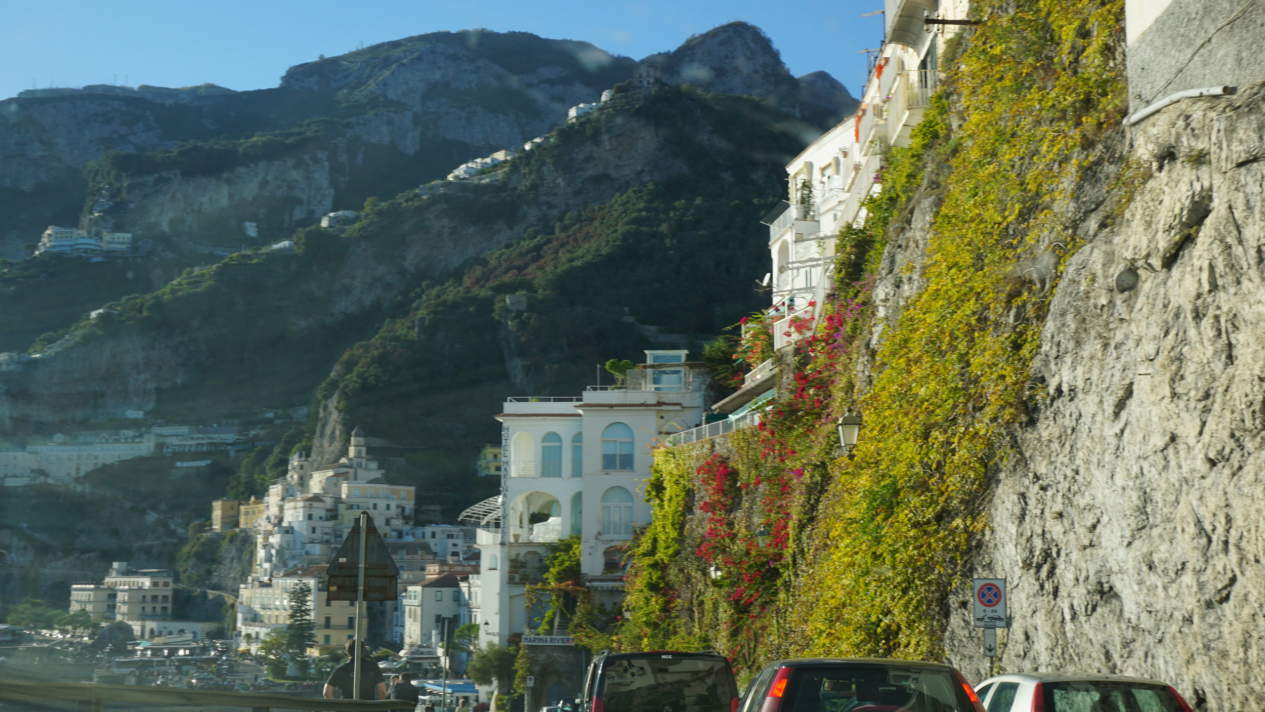 The only picture I managed to get of Amalfi, huhu!