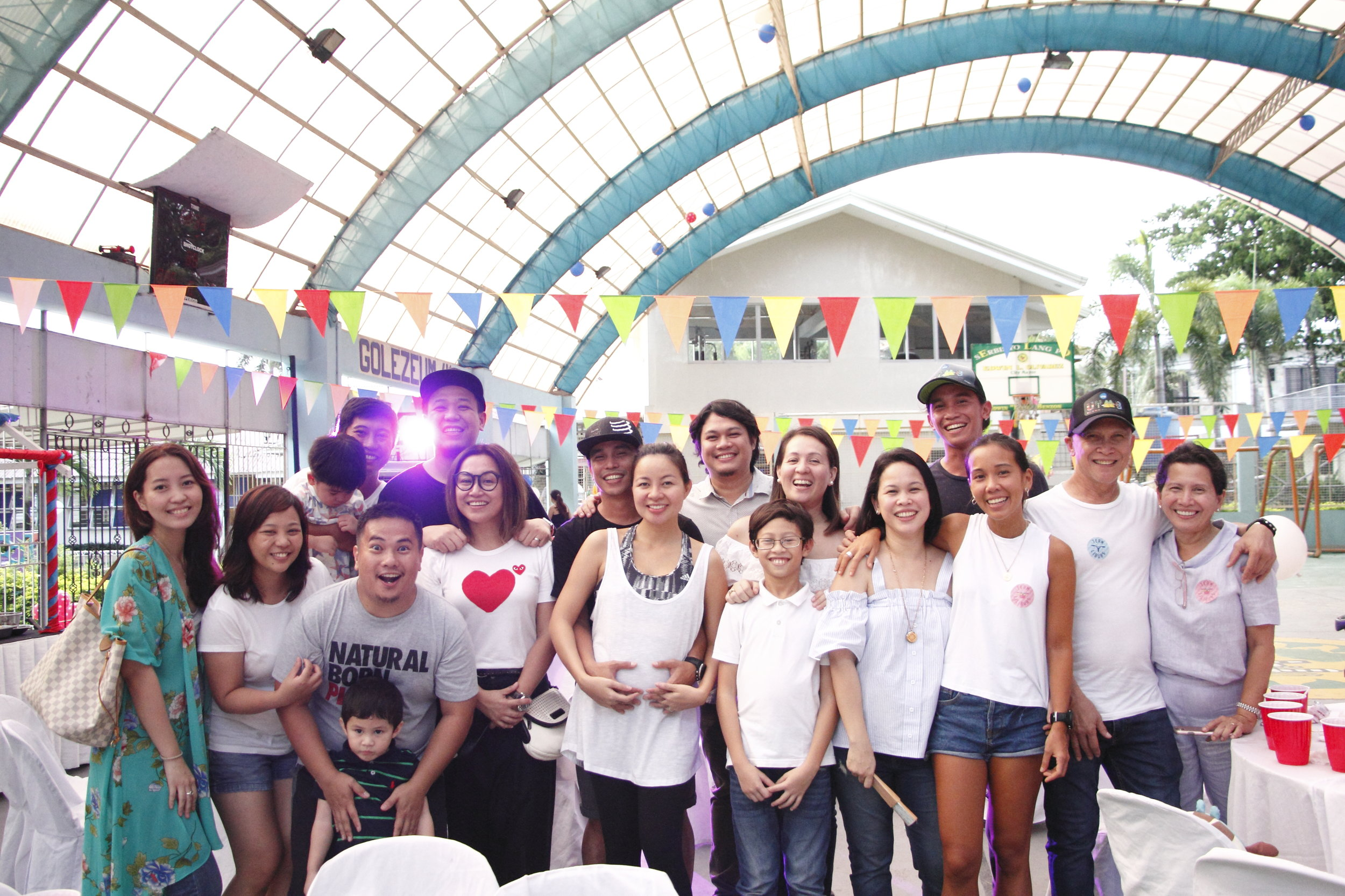 Ramirezes with our cherished friends, Jay and Geli, Pau and Rache, Carlo and Mitch, and Chris and Nic <3