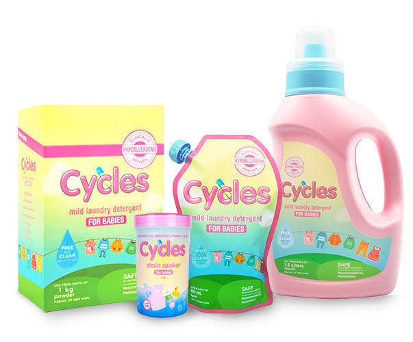 Of all the detergents we've tried, we like Cycles the best :) their sister brand, Cradle, is also what I like to wash my haakaas and breast pump accessories and bottles with.